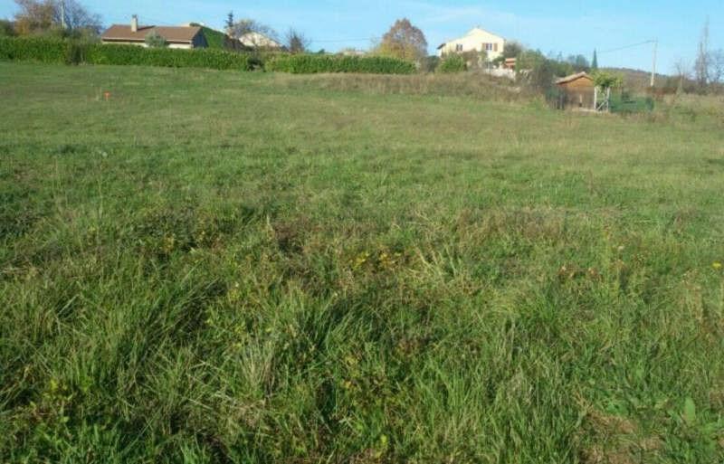 Vente terrain Chomérac 109000€ - Photo 1