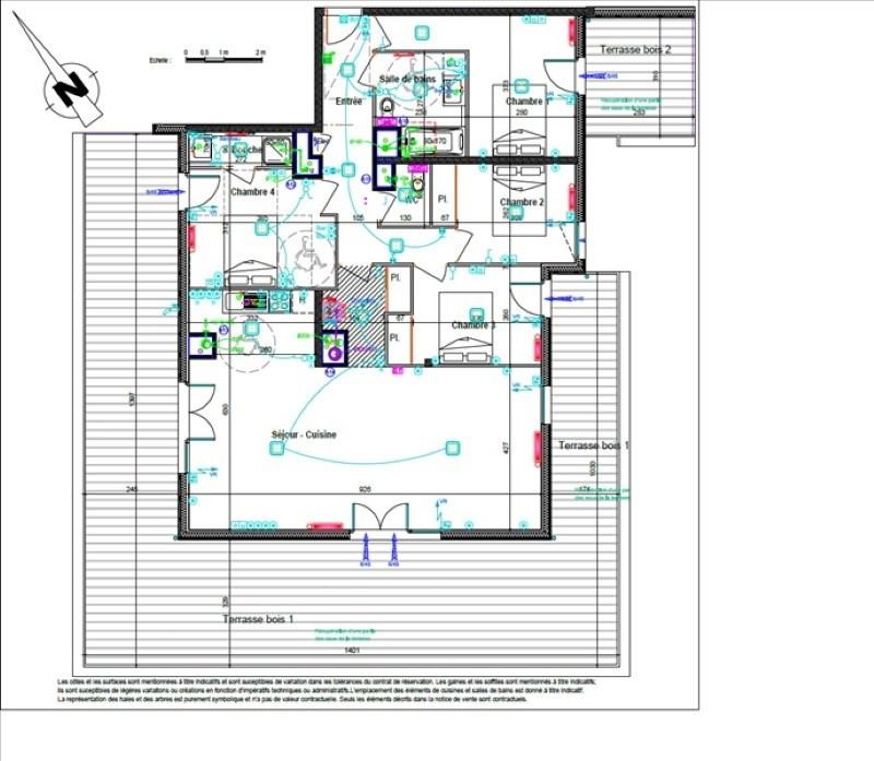 Vente de prestige appartement Saint julien en genevois 716000€ - Photo 4