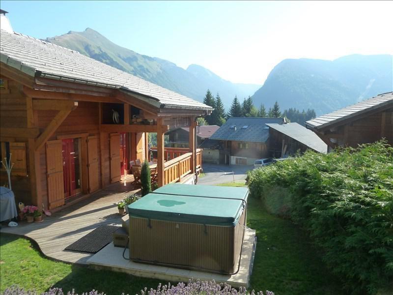Verkoop van prestige  huis La cote d arbroz 879000€ - Foto 2