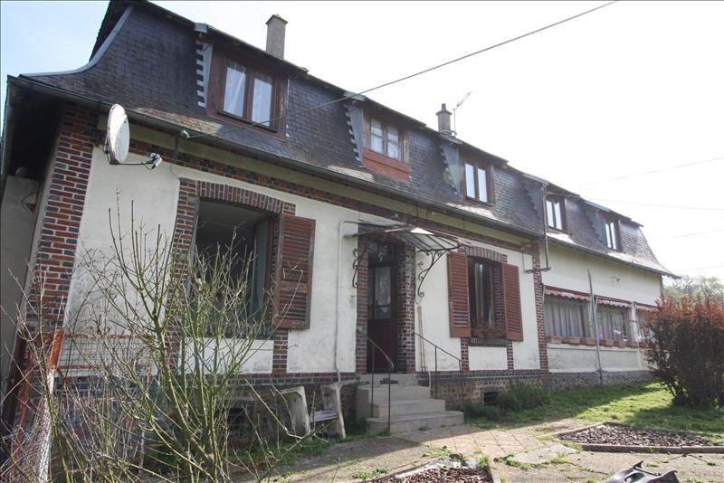 Sale house / villa Conches en ouche 128000€ - Picture 1