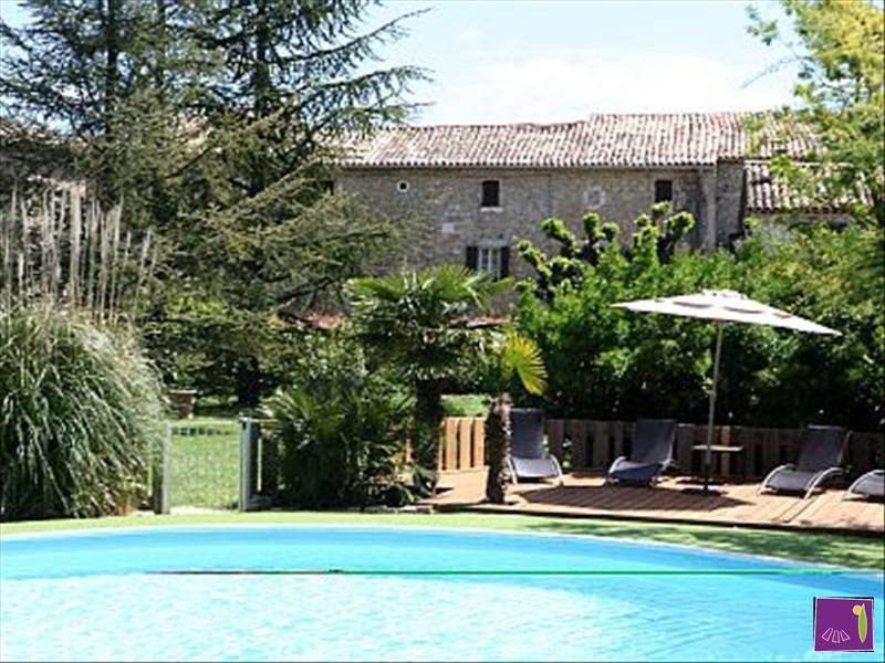 Deluxe sale house / villa Barjac 425000€ - Picture 2