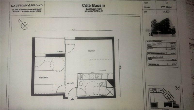 Location appartement Bordeaux chartrons 640€ CC - Photo 2