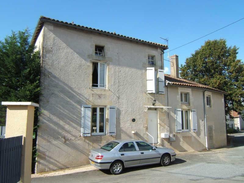 Vente maison / villa Lussac les chateaux 147000€ - Photo 1