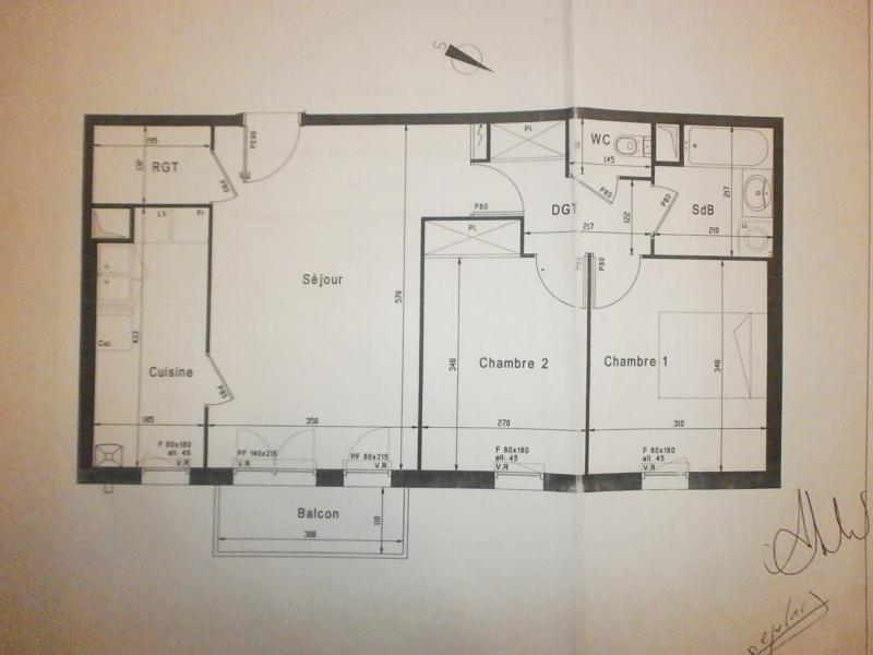 Sale apartment Ecquevilly 180000€ - Picture 6