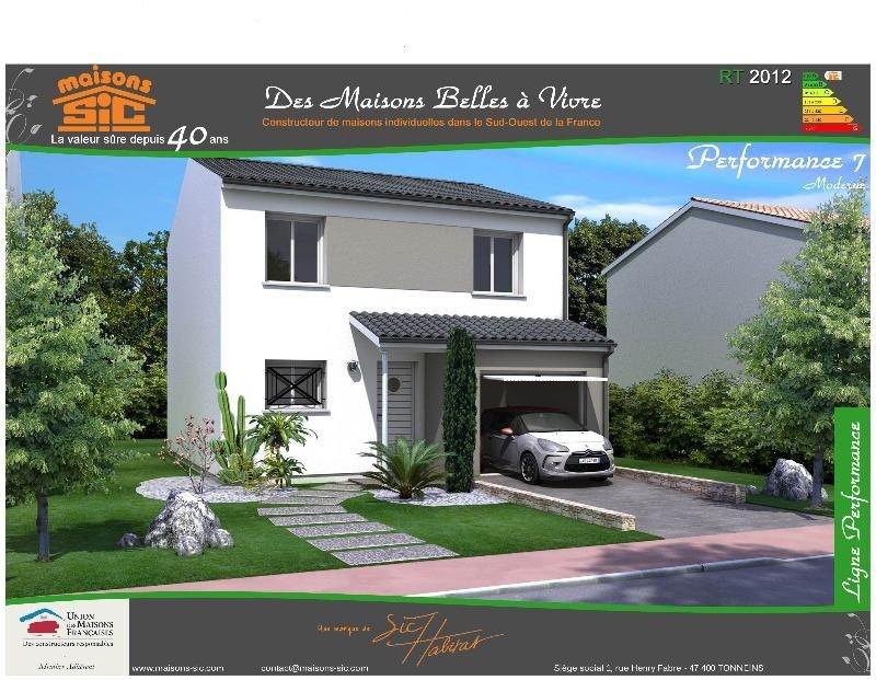 Maison  4 pièces + Terrain 455 m² Villenave d'Ornon par SIC HABITAT