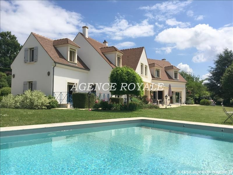Deluxe sale house / villa Chambourcy 1680000€ - Picture 1