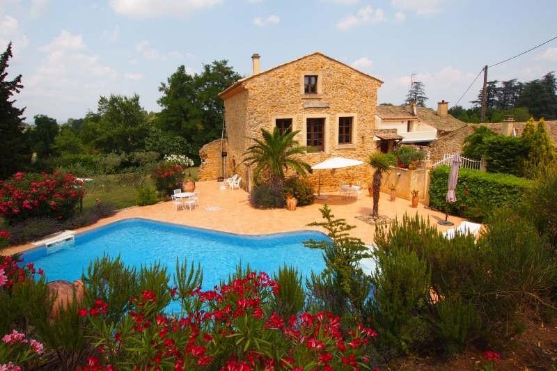 Vente de prestige maison / villa St paulet de caisson 598500€ - Photo 1