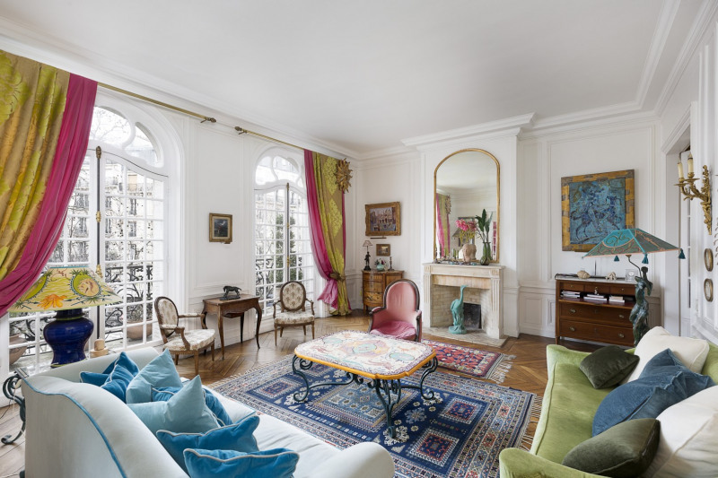 Revenda residencial de prestígio apartamento Paris 7ème 4680000€ - Fotografia 5