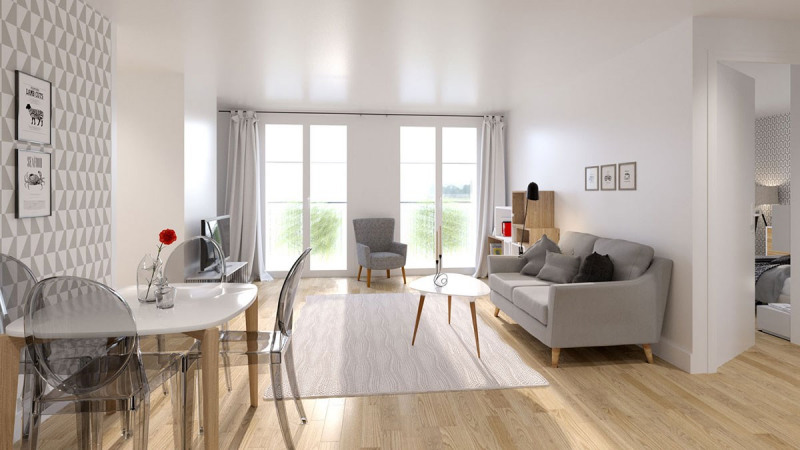 Vente appartement Colombes 435000€ - Photo 2