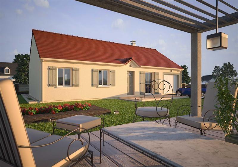 Maison  5 pièces + Terrain 725 m² Saint-Symphorien-le-Château par MAISONS D'EN FRANCE