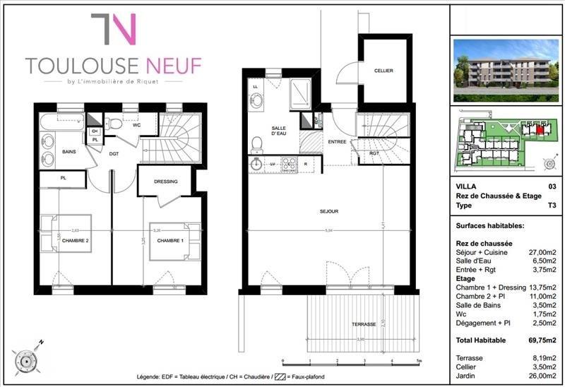 Vente maison / villa Toulouse 285000€ - Photo 9