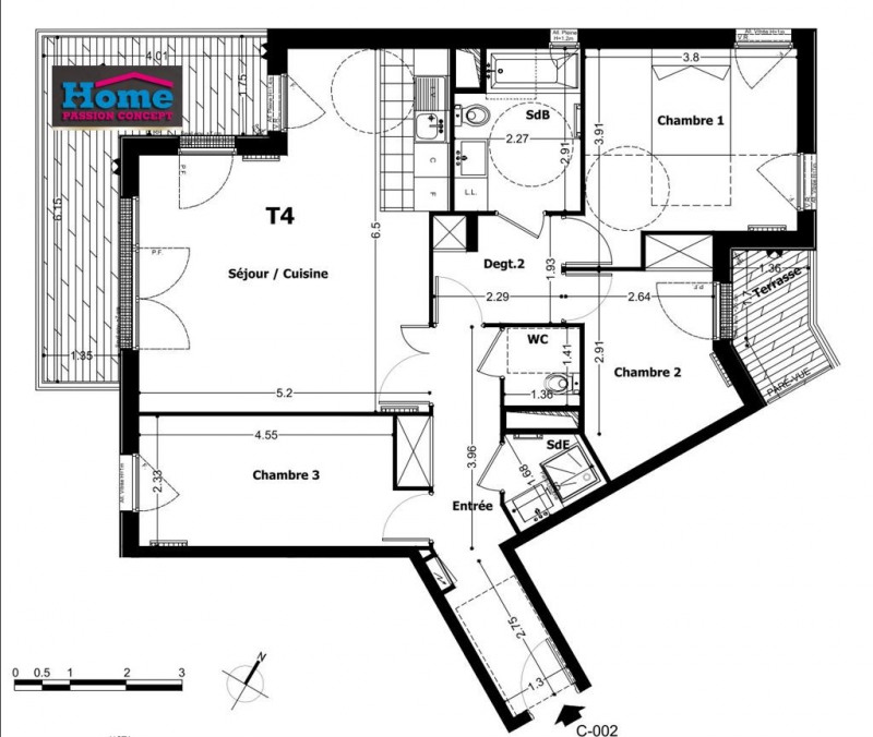 Sale apartment Rueil malmaison 597000€ - Picture 1