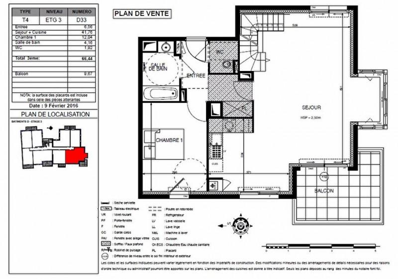 Sale apartment Le pouliguen 530000€ - Picture 1