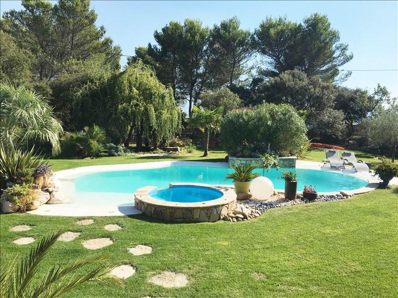 Verkauf von luxusobjekt haus Meyreuil 1265000€ - Fotografie 2