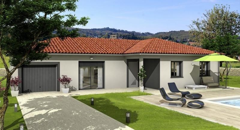 Maison  4 pièces + Terrain 400 m² Bourg Saint Christophe par Villa club
