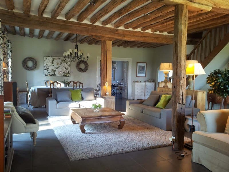 Vente de prestige maison / villa Fontaine chaalis 651000€ - Photo 1