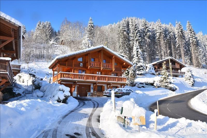Verkoop van prestige  huis La cote d arbroz 879000€ - Foto 1