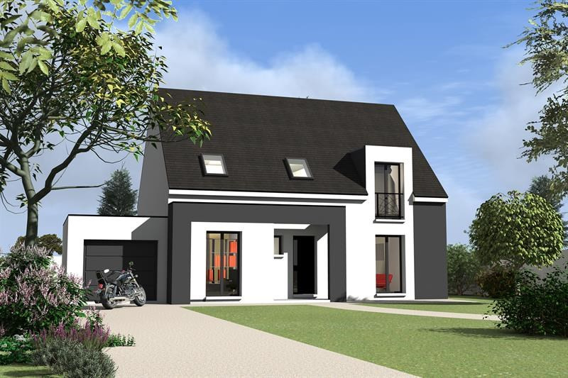 """Modèle de maison  """"Daumesnil 130"""" à partir de 6 pièces Yvelines par MAISONS BERVAL – DIRECTION COMMERCIALE"""