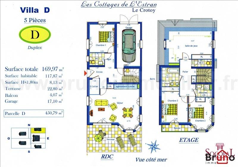 Verkoop van prestige  huis Le crotoy 626000€ - Foto 2