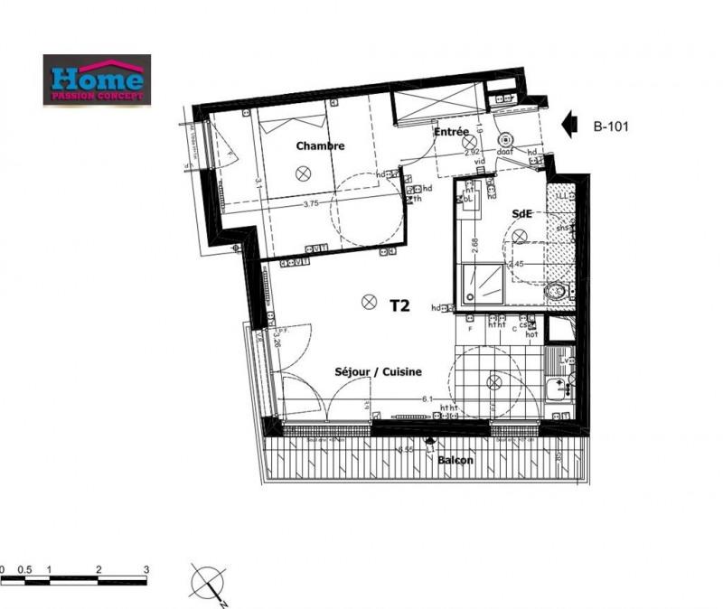 Sale apartment Rueil malmaison 320000€ - Picture 1