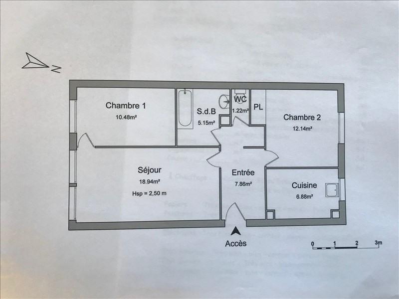 Sale apartment Villejuif 265000€ - Picture 7
