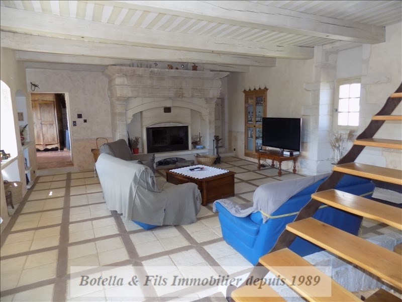 Deluxe sale house / villa Barjac 489500€ - Picture 4