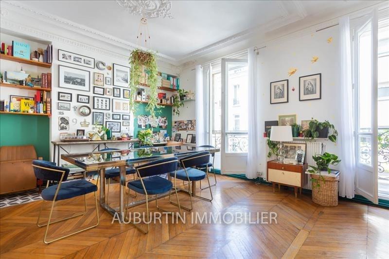 Vente de prestige appartement Paris 18ème 960000€ - Photo 2