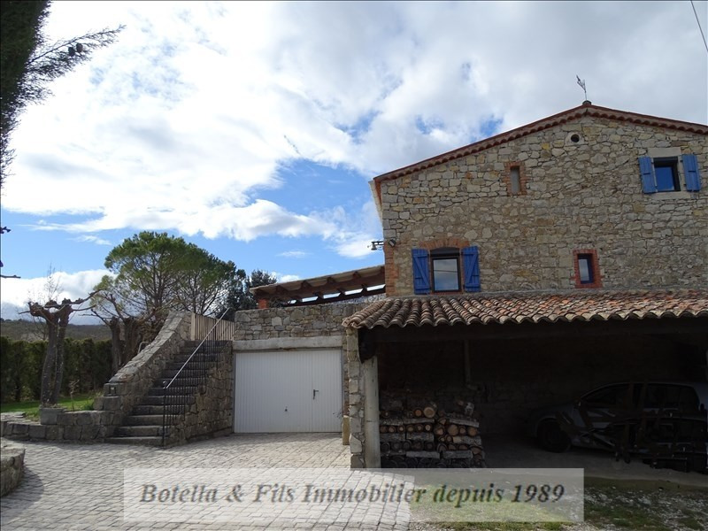 Sale house / villa Barjac 318 000€ - Picture 2