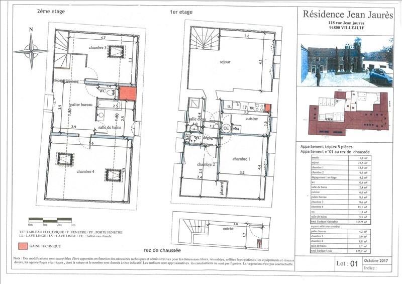 Investment property house / villa Villejuif 499000€ - Picture 2