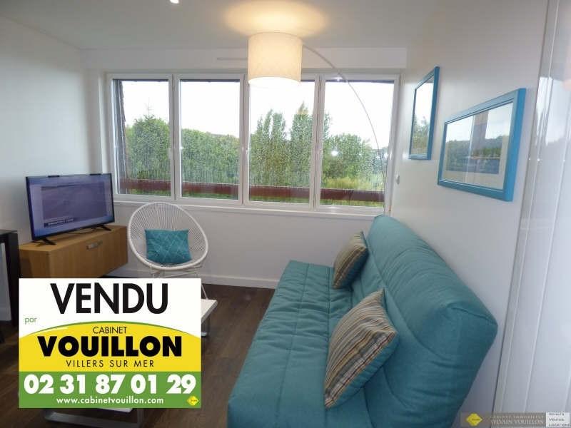 Venta  apartamento Villers sur mer 97000€ - Fotografía 1