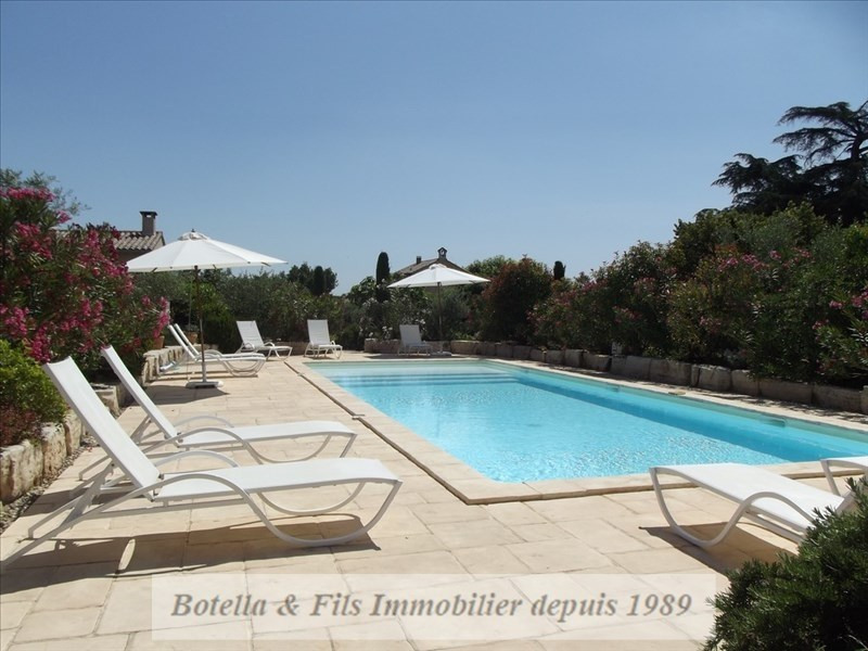 Deluxe sale house / villa Goudargues 1 265 000€ - Picture 14
