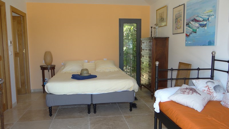 Vacation rental house / villa Le rayol 8 000€ - Picture 17