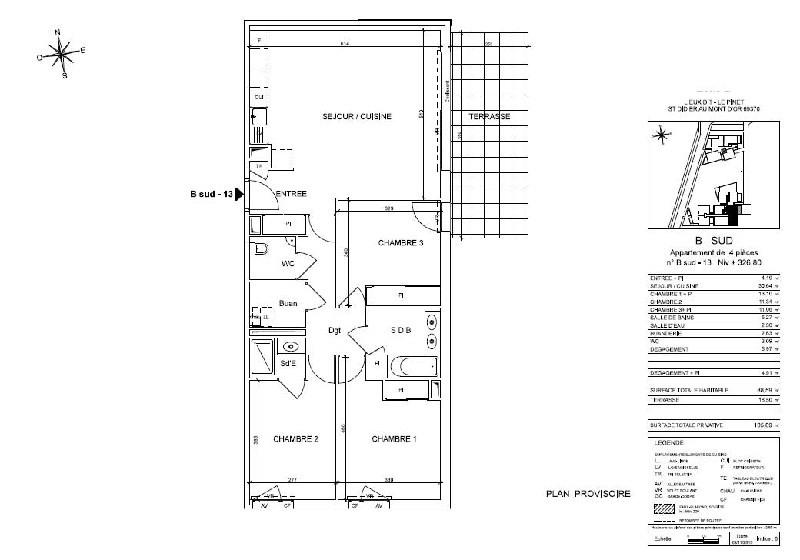Venta  apartamento St didier au mont d or 438000€ - Fotografía 6