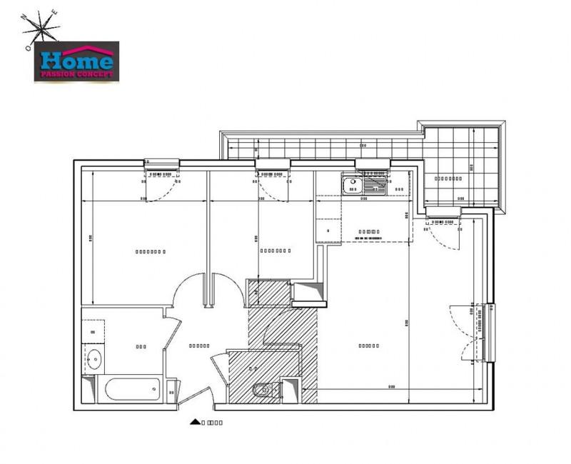 Sale apartment Rueil malmaison 429000€ - Picture 2