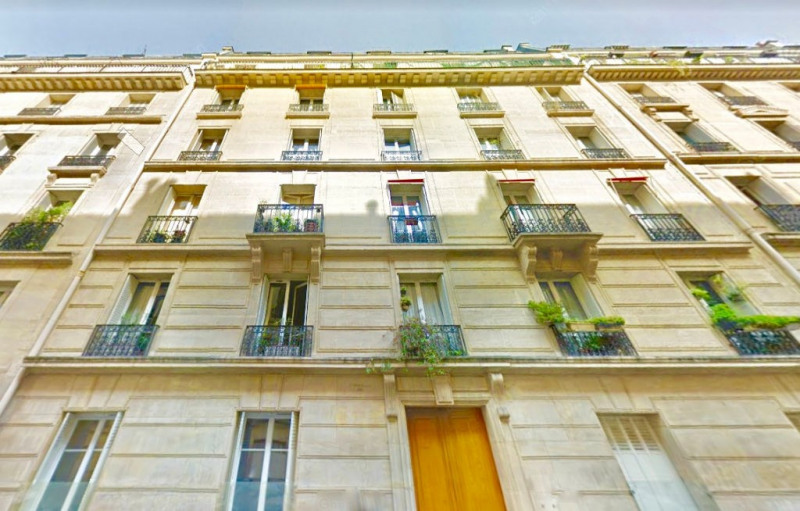 Rental apartment Paris 17ème 750€ CC - Picture 1