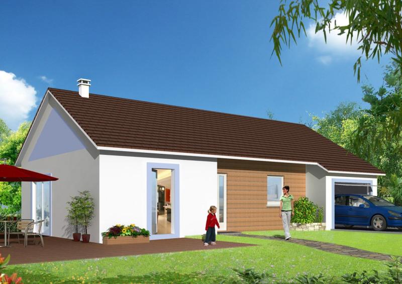"""Modèle de maison  """"Modèle de maison 3 pièces"""" à partir de 3 pièces Côte-d'Or par MAISONS ROCBRUNE"""