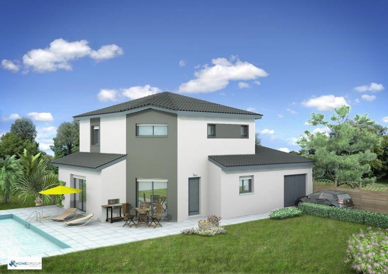 Maison  4 pièces + Terrain 800 m² Oyeu par HOME GROUP CONSEILS