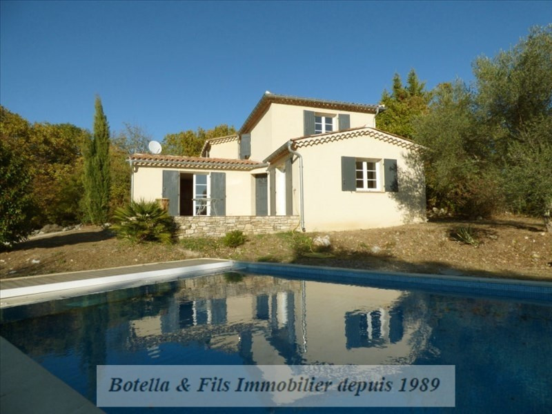 Sale house / villa Barjac 269000€ - Picture 1