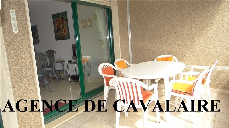 Sale apartment Cavalaire 329 000€ - Picture 1