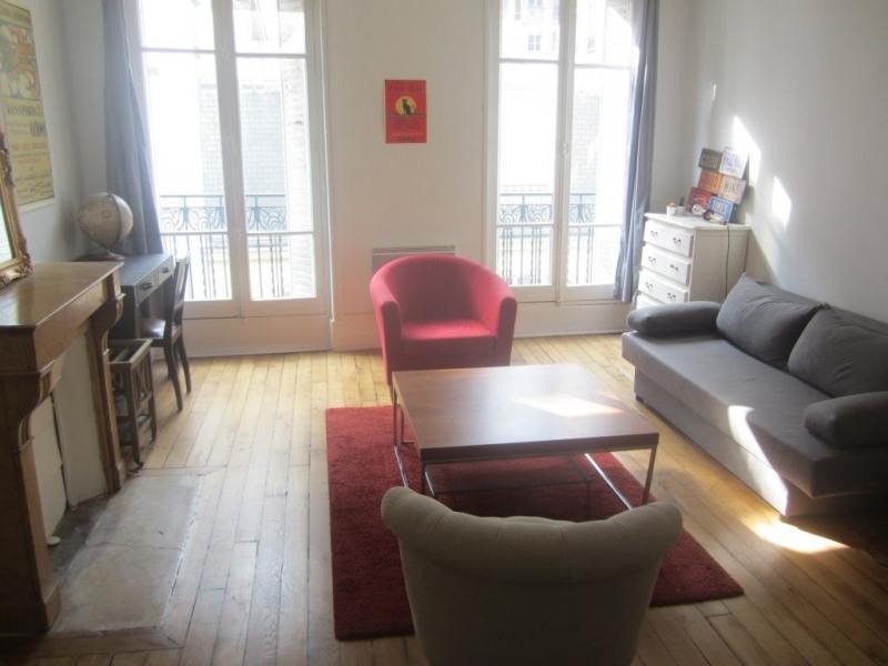 Rental apartment Paris 11ème 1150€ CC - Picture 1