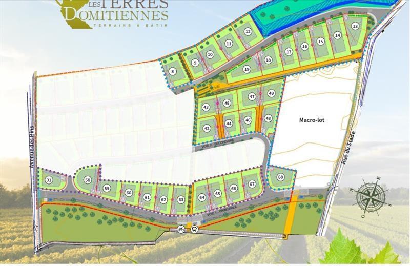 Vente terrain pinet 423m 84500 for Combien coute un terrain constructible
