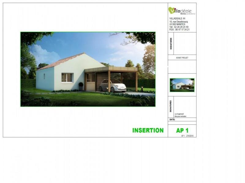 Maison  4 pièces + Terrain Les Moutiers-en-Retz par VILLADEALE NANTES