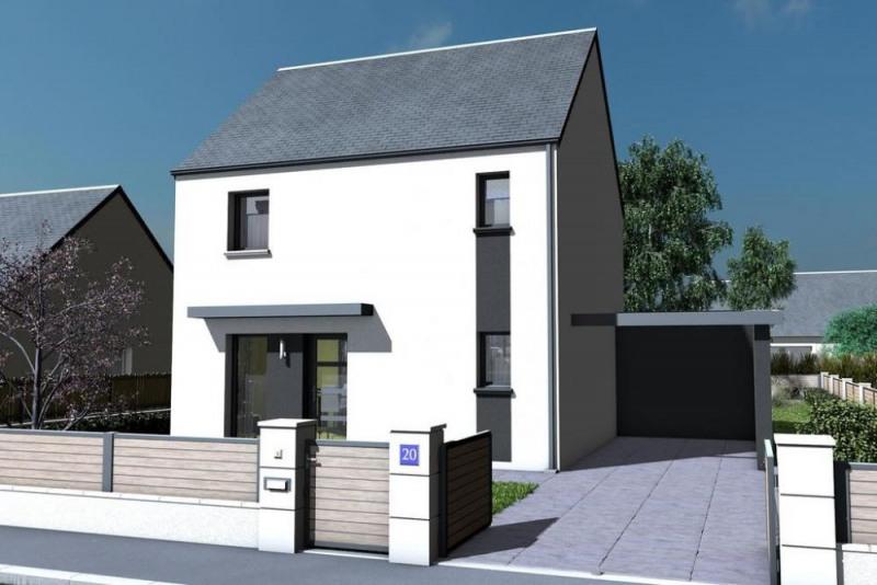 Maison  4 pièces + Terrain 593 m² Croix-en-Touraine par maisons PRIMEA