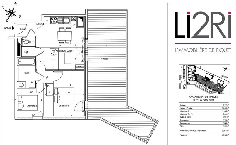 Vente appartement Toulouse 370000€ - Photo 7