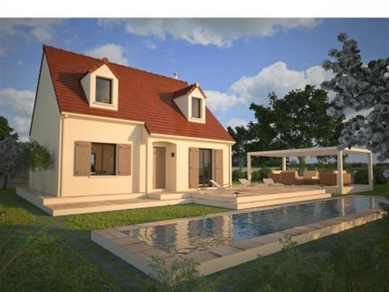 """Modèle de maison  """"Modèle de maison 5 pièces"""" à partir de 5 pièces Seine-et-Marne par MAISONS D'EN FRANCE - SEINE-ET-MARNE"""