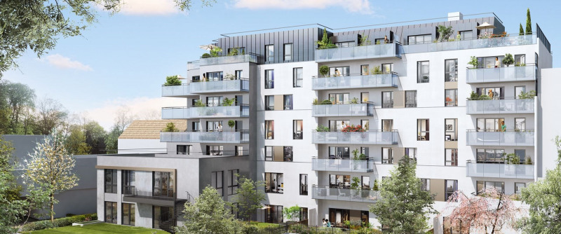 Imagine programme immobilier neuf cachan propos par for Immobilier neuf idf
