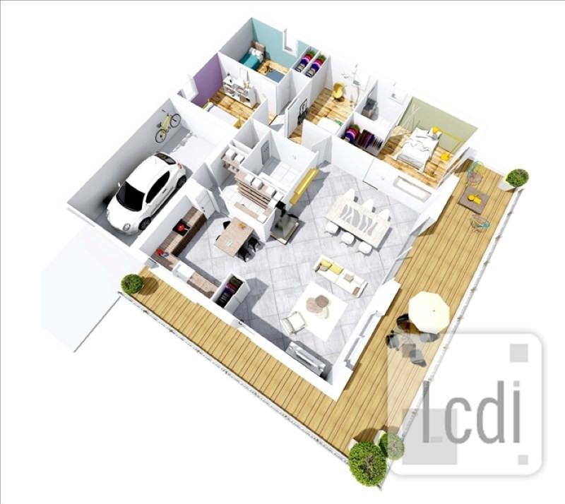 Vente maison / villa Montelimar 276900€ - Photo 2