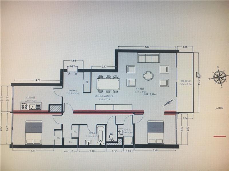 Venta  apartamento Paris 15ème 699000€ - Fotografía 5