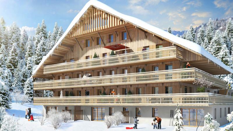 Revenda apartamento Châtel 455000€ - Fotografia 1