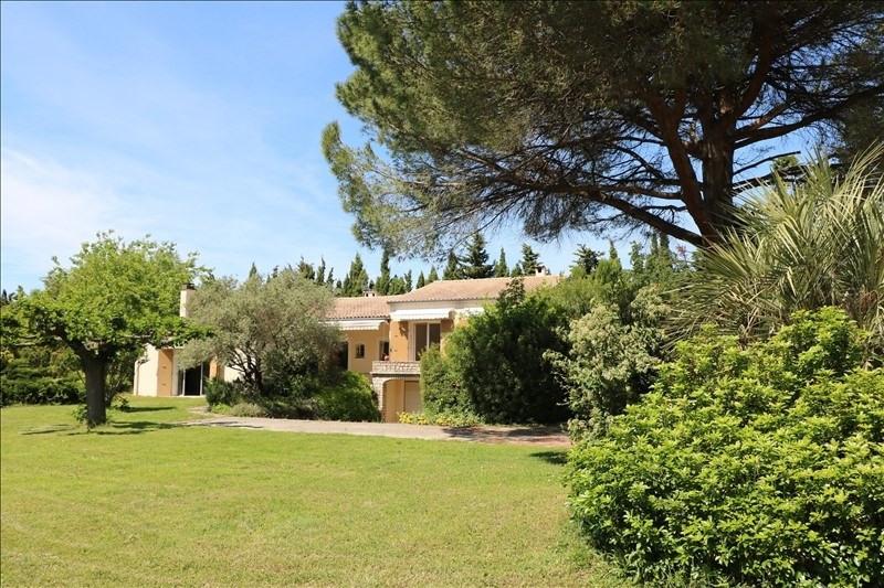 Sale house / villa Chateauneuf du rhone 475000€ - Picture 1